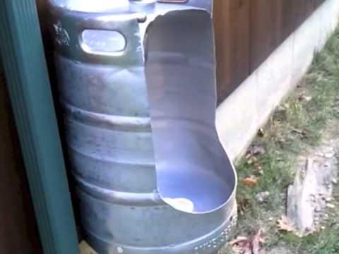 Beer Keg Urinal Youtube
