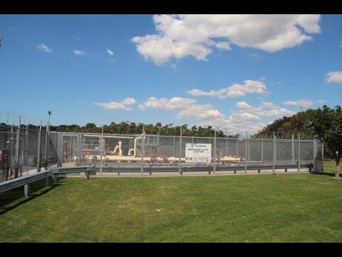 Bluedog GuardForce® 358 Mesh High Security Fencing Port Of Brisbane Queensland