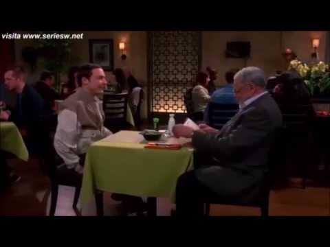 Sheldon Cooper y James Earl Jones subtitulado en español.