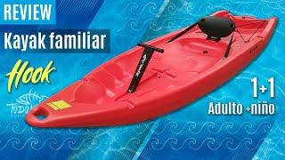 """Vídeo: Kayak biplaza """"Hook"""""""