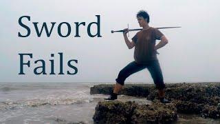 Sword throwing fail compilation | Фейлы с мечом