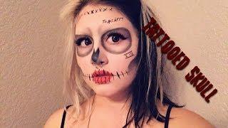 Tattooed Skull Makeup