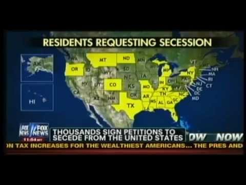 Twenty States Push Petitions to Secede from Union on WhiteHouse.Gov
