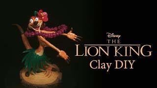 The Lion King |Timon and Pumbaa's Hula Dance | DIY Polymer Clay Tutorial