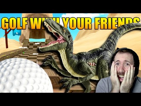 THE NEW ANCIENT MAP!! | Golf With Your Friends Gameplay Part 32