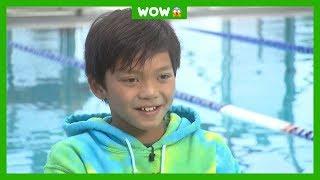 Clark zwemt sneller dan olympisch kampioen