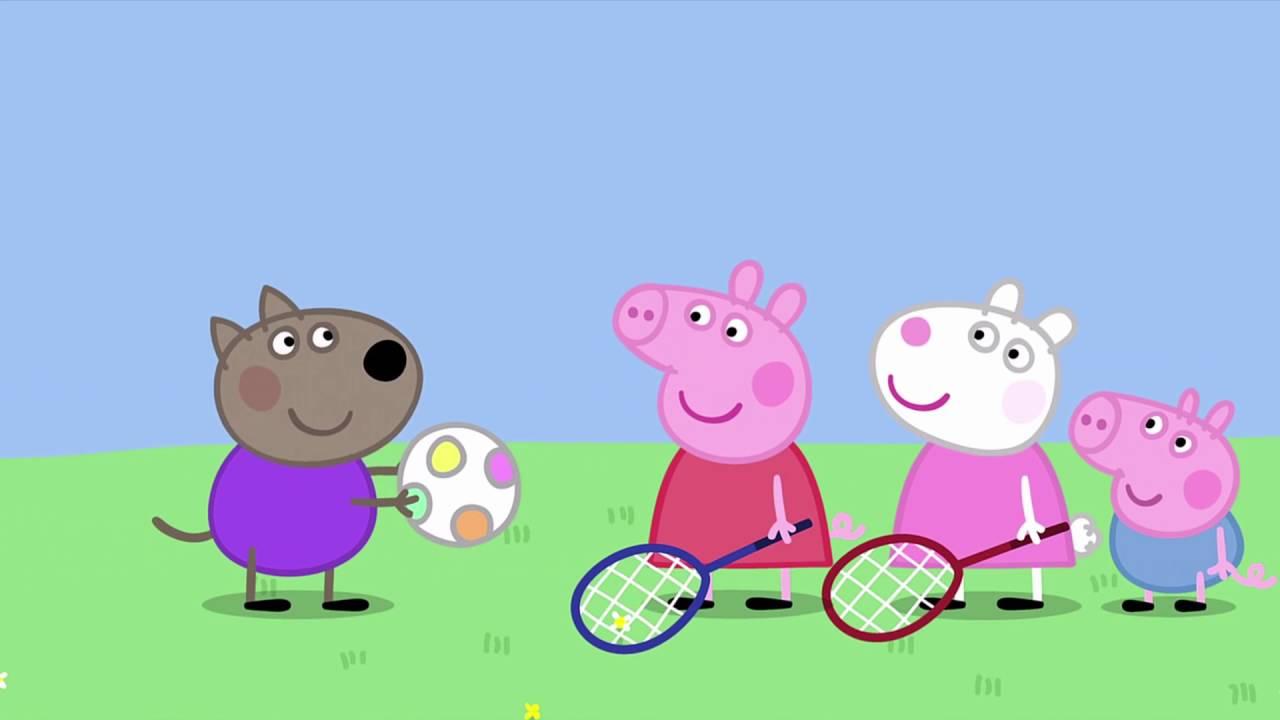 Peppa Pig Bouncy Ball 48 Episode 2 Season Hd Youtube