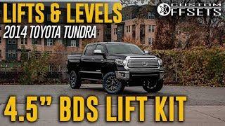 "Lifts & Levels: 4.5"" BDS Lift Kit 2014 Toyota Tundra"