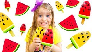 Милли и Ева и забавная детская история - большая коллекция видео для детей