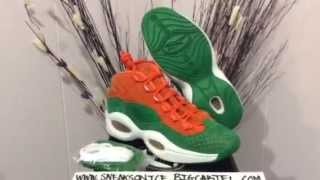 Reebok Iverson Question Mid SneakersNstuff review