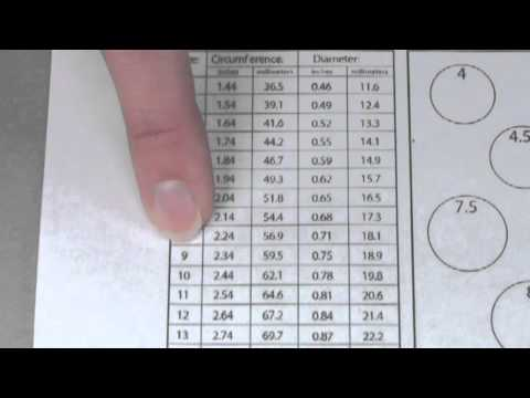 How To Measure Your Ring Size At Home Youtube