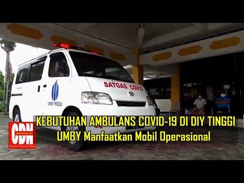 UMBY UBAH MOBIL OPERASIONAL JADI AMBULANS COVID-19