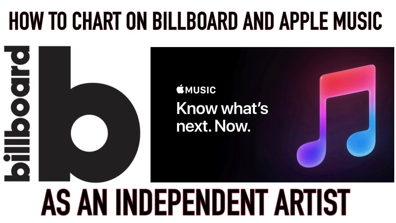 How To Chart on Billboard and Apple Music as an Independent Artist
