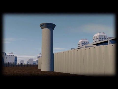 La barrière de séparation en Cisjordanie