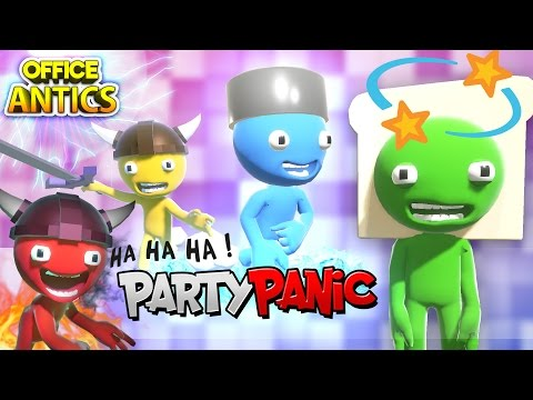 CRAZY MINI GAME MADNESS! | Party Panic | OFFICE ANTICS
