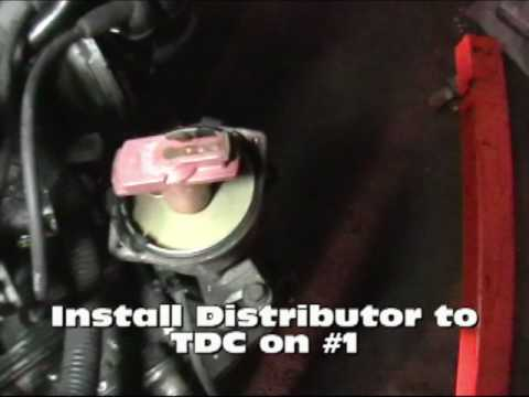ea82 distributor and ignition timing