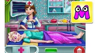 ЭЛЬЗА В БОЛЬНИЦЕ Холодное сердце МУЛЬТИК ИГРА ДЛЯ ДЕТЕЙ Игра про Эльзу  Frozen Elsa