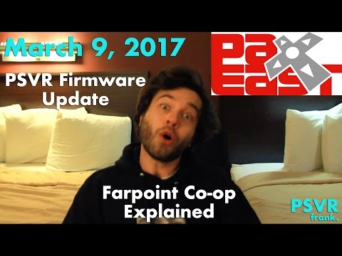 Daily PSVR Review #6 - Cinema Mode Update, Farpoint Co-op Explained, &  PAX East Info