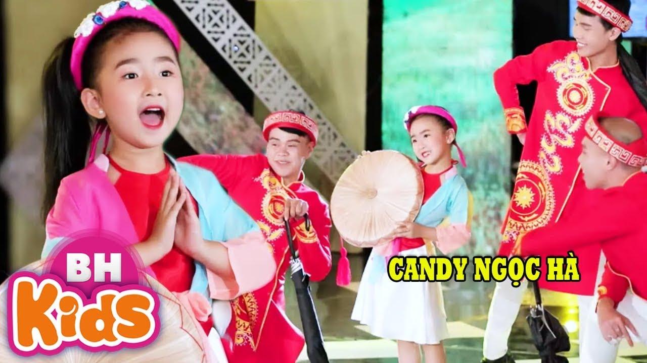 Hôm Qua Em Đi Chùa Hương ♫ Giọng ca nhí đáng yêu nhất Candy Ngọc Hà