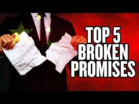 Top 5 Trade Promises China Has Broken  US China Trade War  China Uncensored