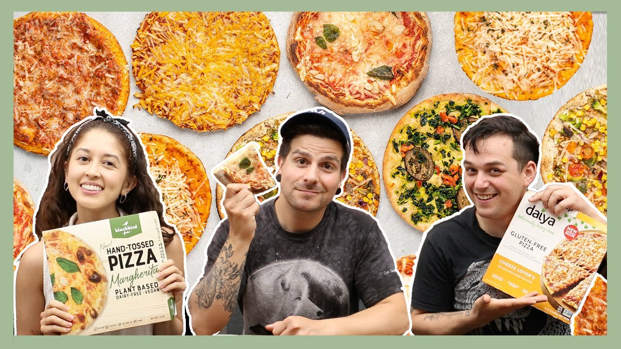 Which Frozen Vegan Pizza is the Best? (Taste Test)