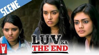 Girls find out about BBC - Scene - Luv Ka The End