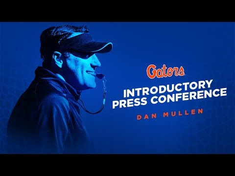 Florida Football: Dan Mullen Introductory Press Conference