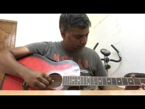 Katama Rayudu - Yelo Yedarilo Vaana - Guitar Intro