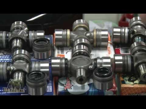 Видео Ремонт карданных валов москва