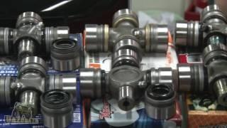 UAZOBAZA # 21 Обзор крестовин карданных валов для УАЗ