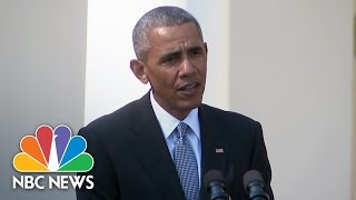 President Obama: Accusations Of Collusion On Hillary Clinton Emails 'Not True' | NBC News