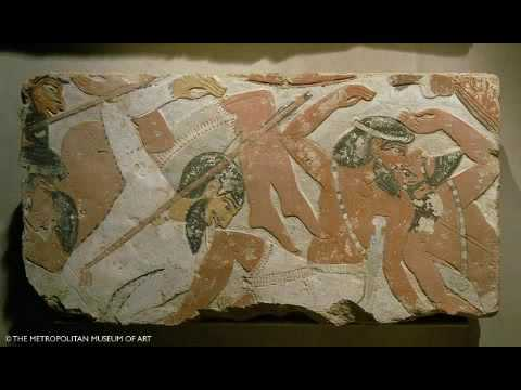 """Ancient Semites of the Levant. """"Original preserved colouring."""""""