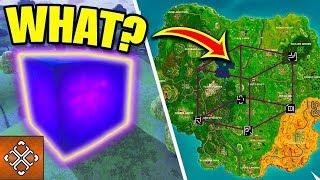 Fortnite CUBE IS DRAWING A CUBE | Loot Lake = Lava Lake? | Fortnite Battle Royale | LIVE REPLAY
