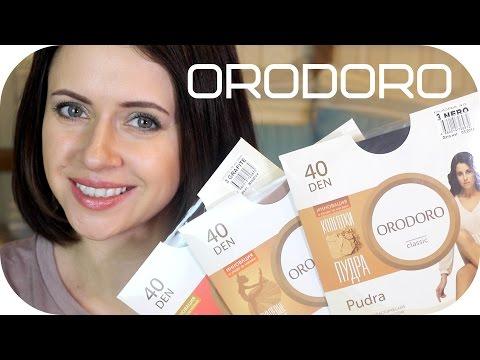 ОБЗОР + КОНКУРС:  Orodoro - российский бренд колготок