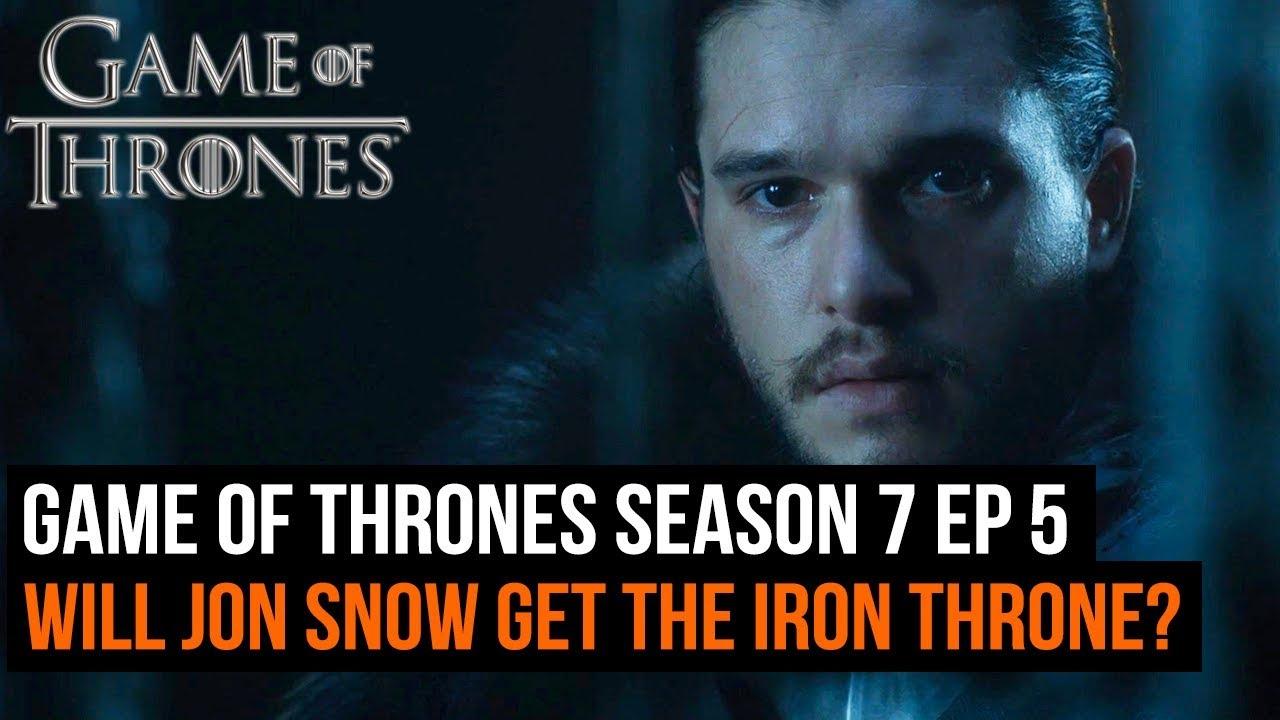 Game of Thrones Season 7 Ep 5 - Will Jon Snow eventually ...