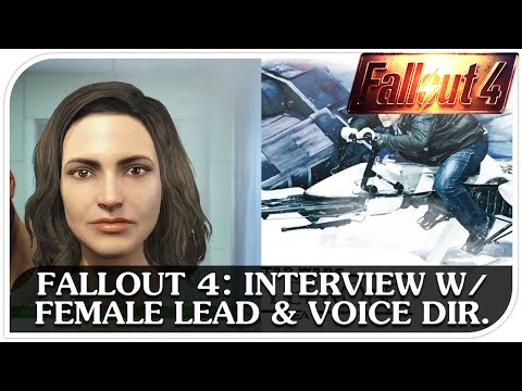 FALLOUT 4: Interview with Female Protagonist, Courtenay Taylor, and Voice Director, Kal-El Bogdanove