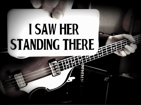 THE BEATLES - I SAW HER STANDING THERE - PAUL McCARTNEY - BASS BREAKDOWN/LESSON/SONG/HOW TO PLAY