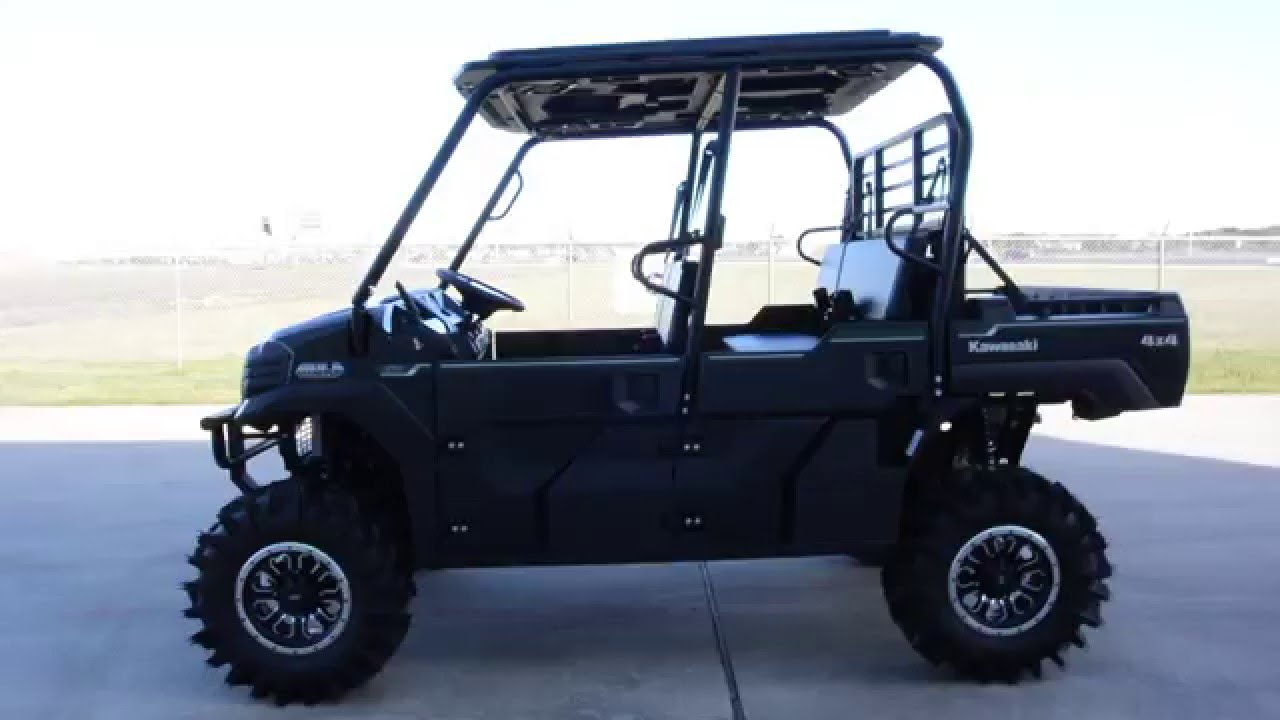 $17,999: 2016 Kawasaki Mule Pro FXT EPS with Lift, 29 5 Inch Tires and a  Pro Box Stereo Top