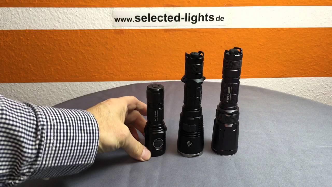 Nitecore Multitask Hybrid MH12GT XP-LHI V3 Taschenlampe 1000 Lumen aufladbar