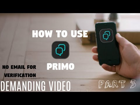 How to use primo and get international number (PART 3)