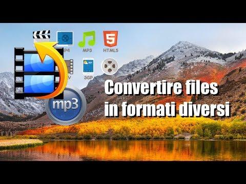 Tutorial Mac #145 - Convertire files in formati diversi audio-video
