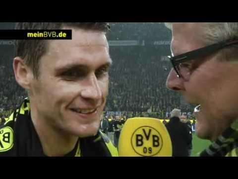 BVB - Gladbach: Interview mit Sebastian Kehl zum Gewinn der Meisterschaft