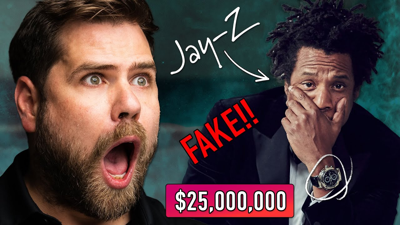 Watch Expert Reacts to Jay Z's INSANE $25,000,000 Watch Collection