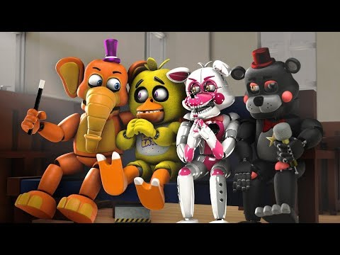 ШКОЛА АНИМАТРОНИКОВ ФНАФ #3 - АНИМАЦИЯ SFM FNAF (FIVE NIGHTS AT FREDDY'S) РЕАКЦИЯ