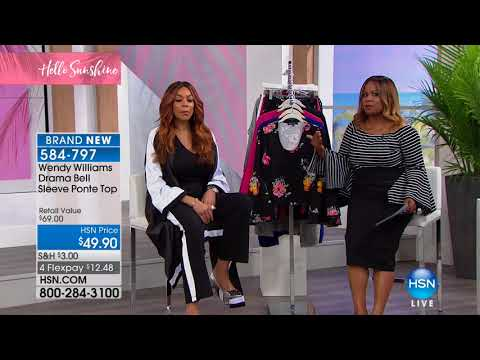 HSN | Wendy Williams Fashions 02.11.2018 - 01 PM