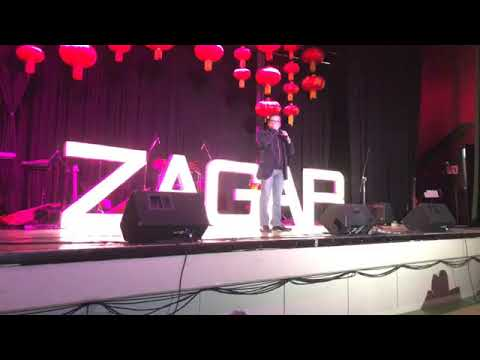 ZAGAR desde el bar, en vivo!!, 😂🍻🎤🎧 Calgary, Canadá, La