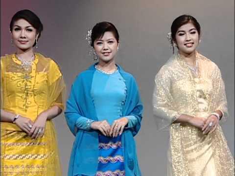 Myanmar Women Dress
