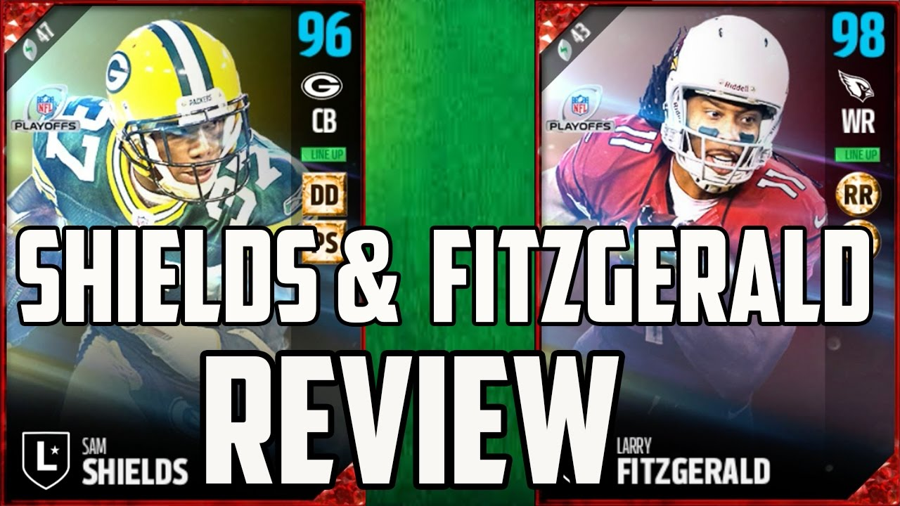 95 Larry Fitzgerald and 94 Sam Shields Dual Review - MUT 17