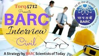 BARC Interview Preparation Strategy: Civil