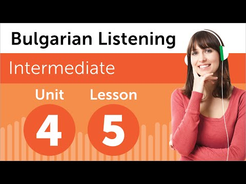 Bulgarian Listening Practice - Finding Your Way Around a Building in Bulgaria